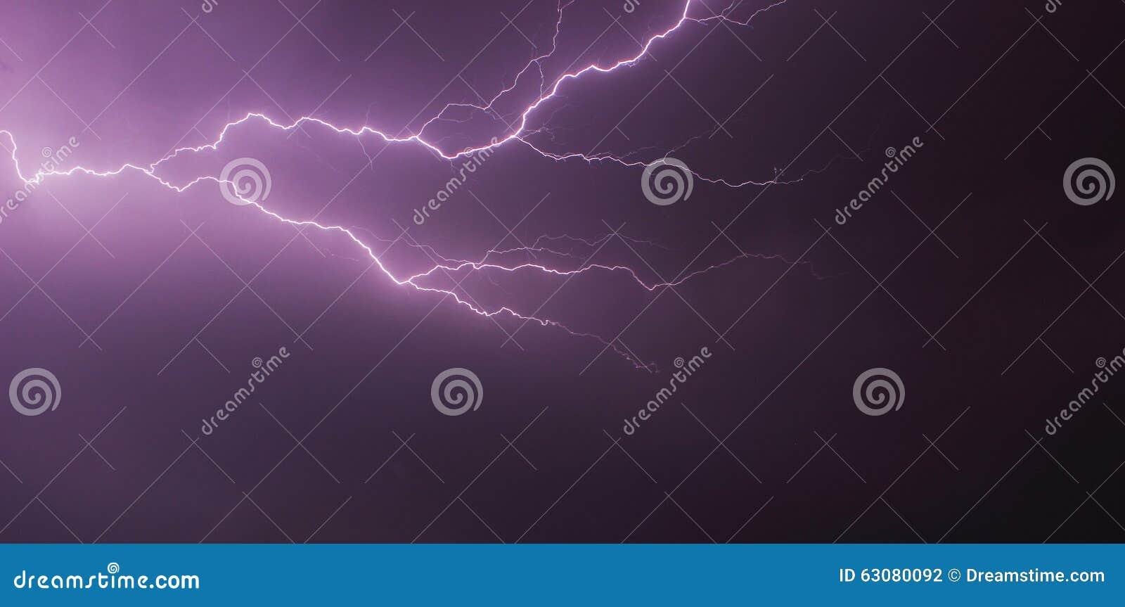 Very large lightning