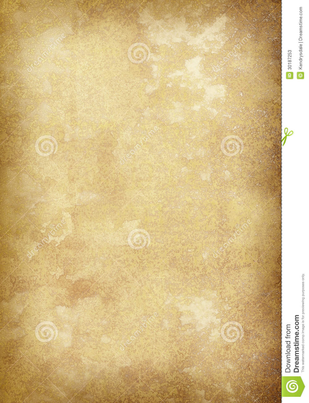 Very large real old vellum page with complex grain and texture. Ideal ... Vintage Border Vector