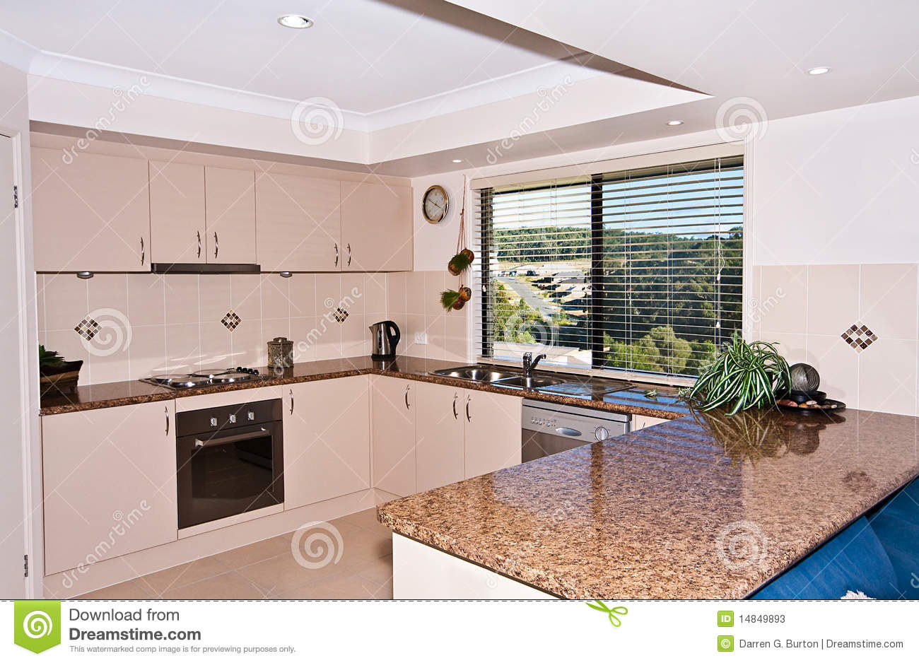 Very modern kitchen stock photos image 14849893 for Very modern kitchens