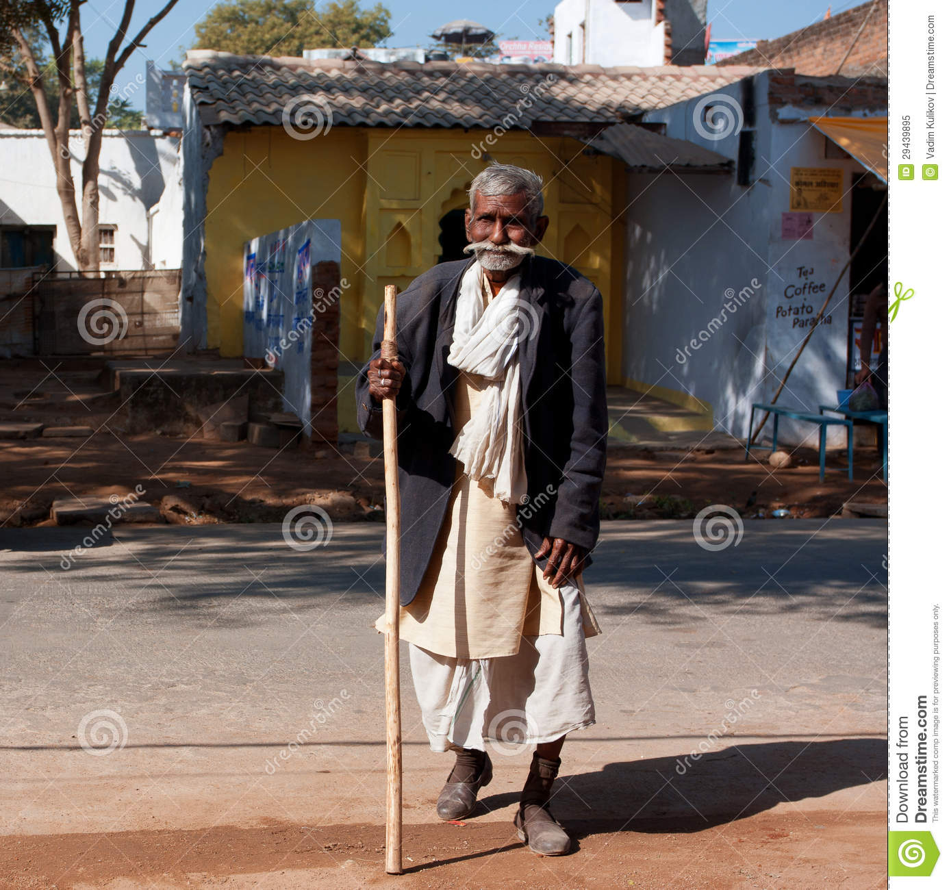 Image of: India Poor Elderly Man Walk The Street At The Sunny Day In Orchha India 60plus Age Group In India Will Increase To 100 Million People In 2013 Dreamstimecom Very Old Asian Man Walk The Street Editorial Image Image Of