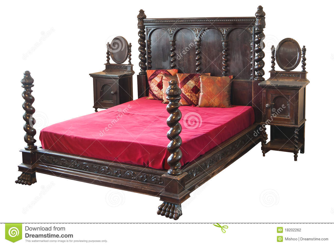 Very Old Bed Stock Photography Image 18202262