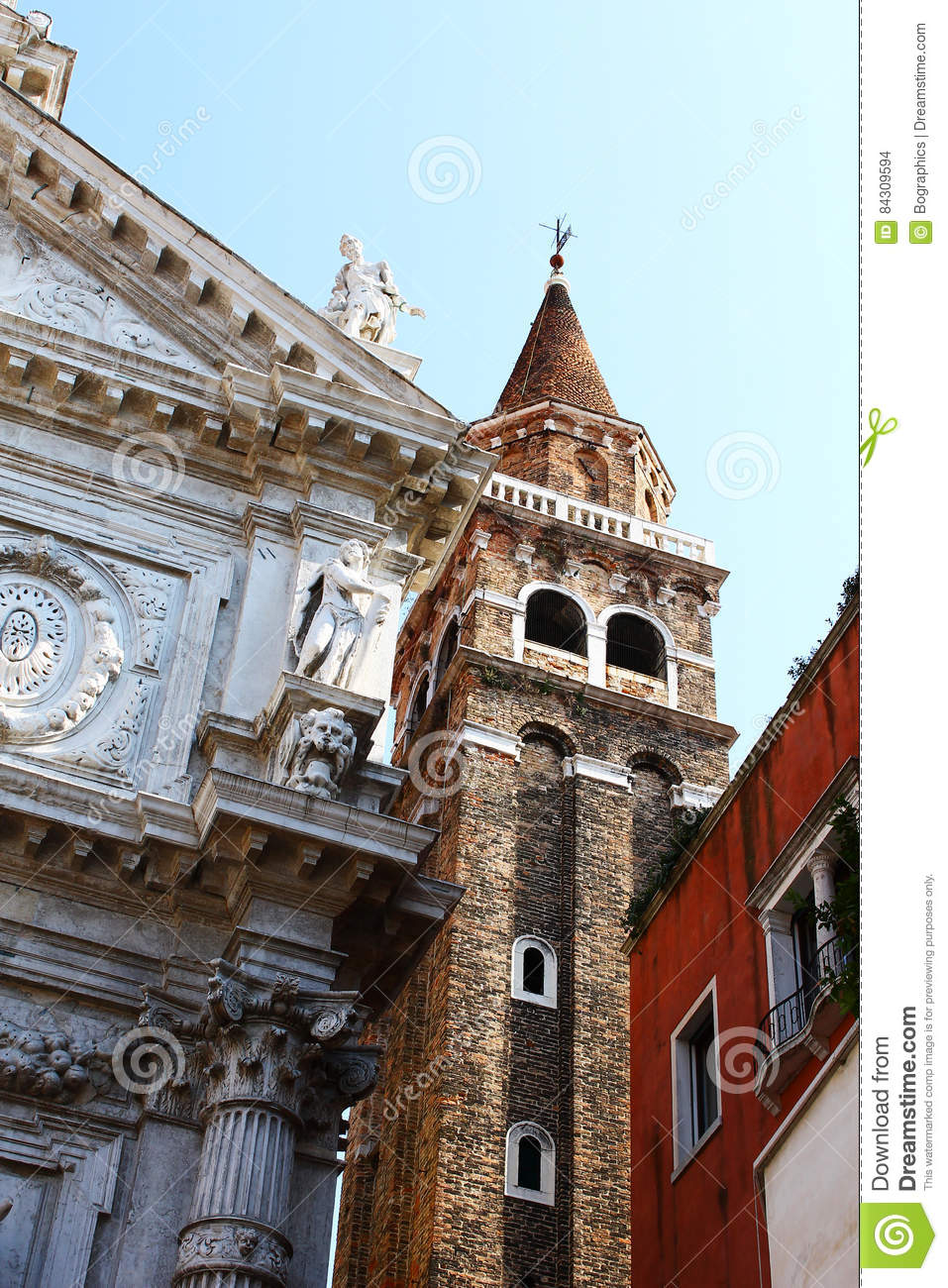 Download Very Old Buildings Crowded Inside Venice Stock Photo - Image of buildings, building: 84309594