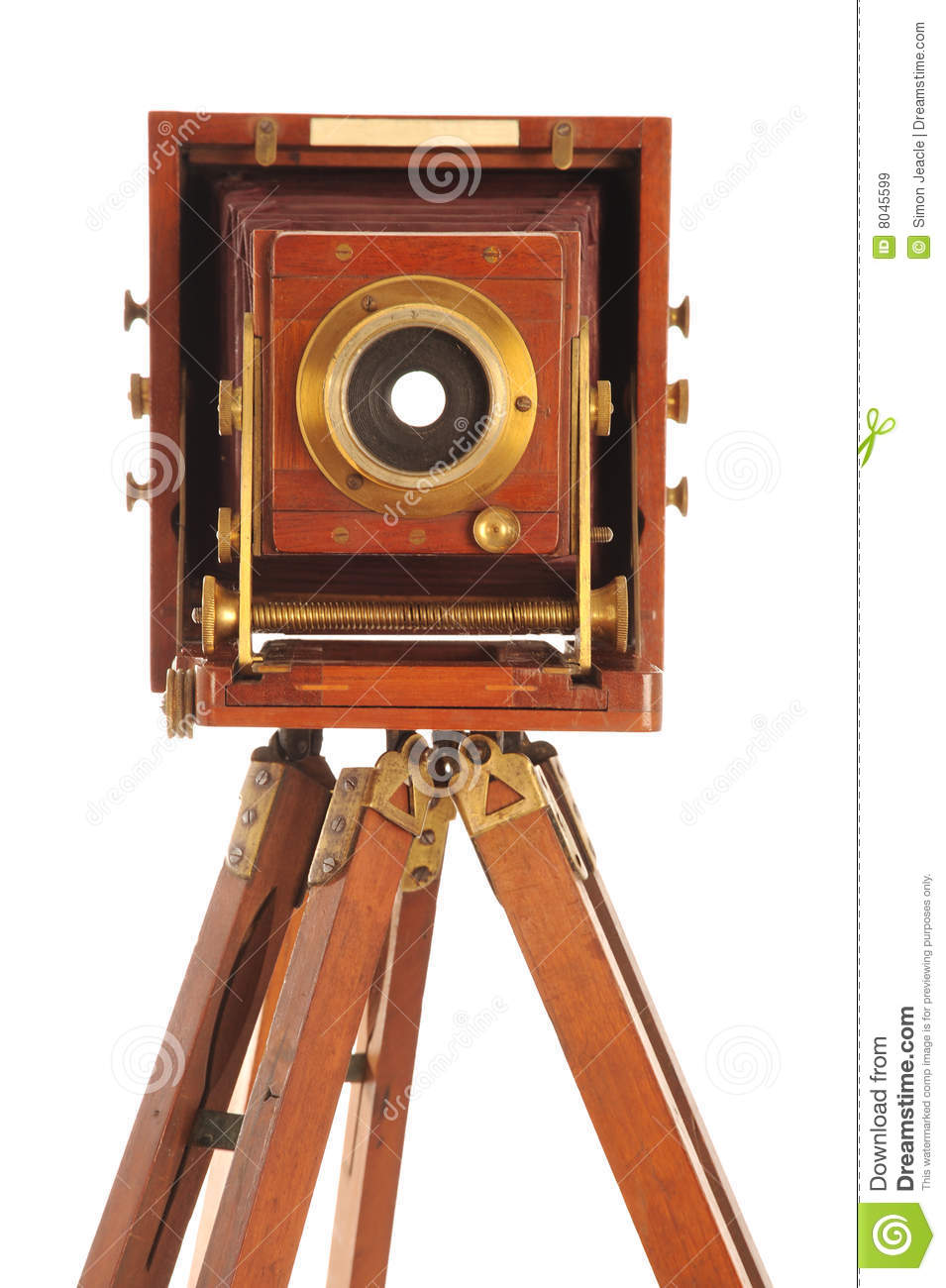 Very Old Camera stock image. Image of photography, retro ...
