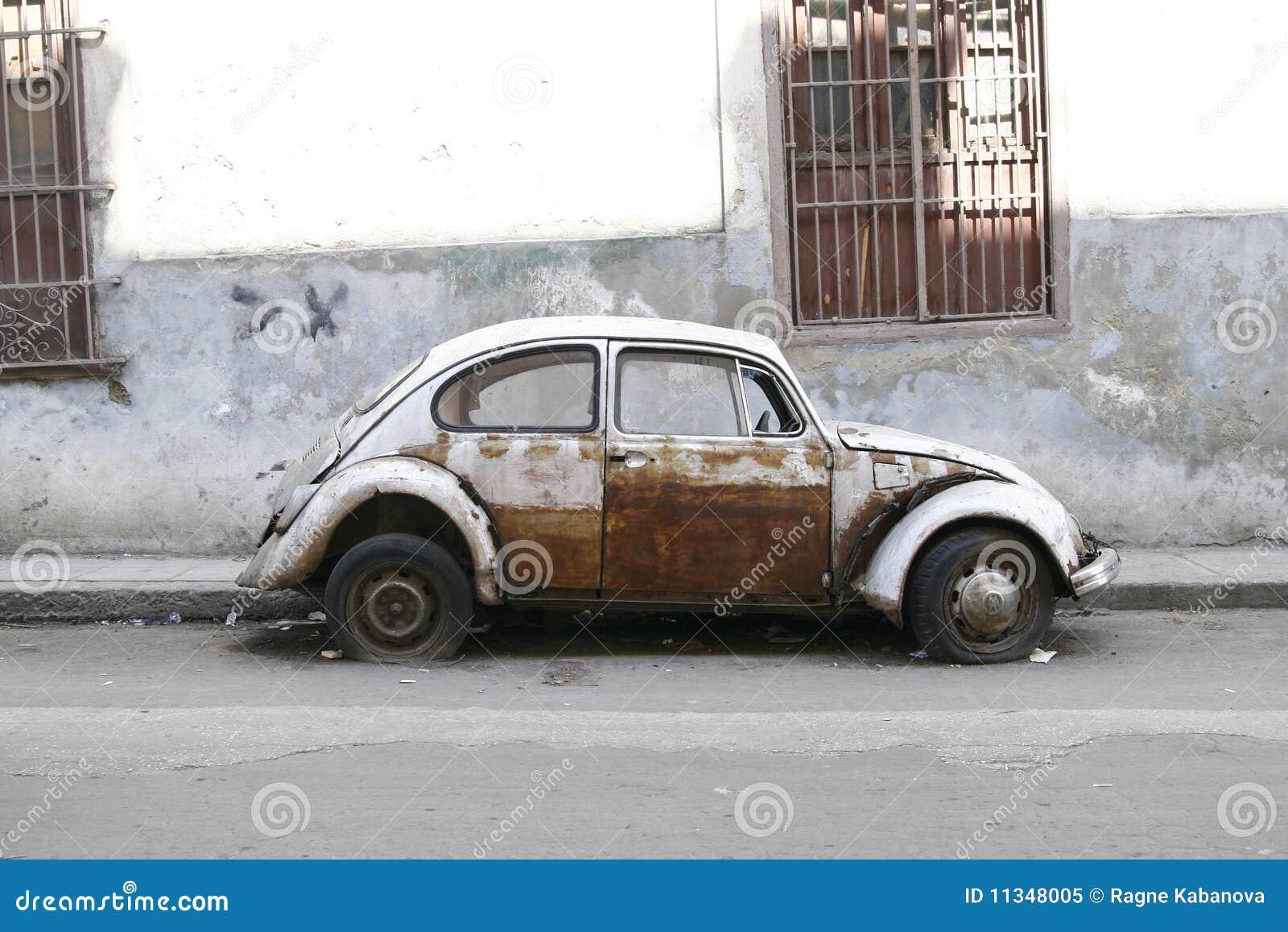 Very old car. Havana, Cuba