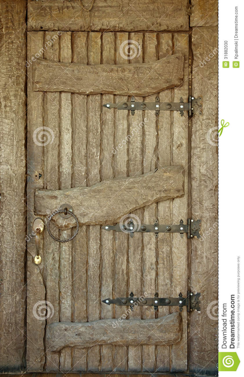 Very Old Historic Door Stock Photo Image Of Facade