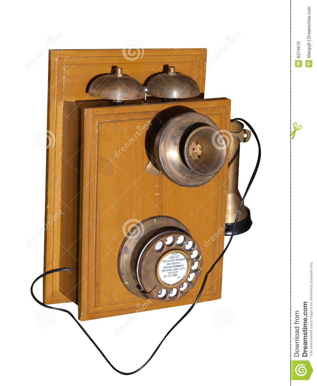 very old phones very old phone isolated with
