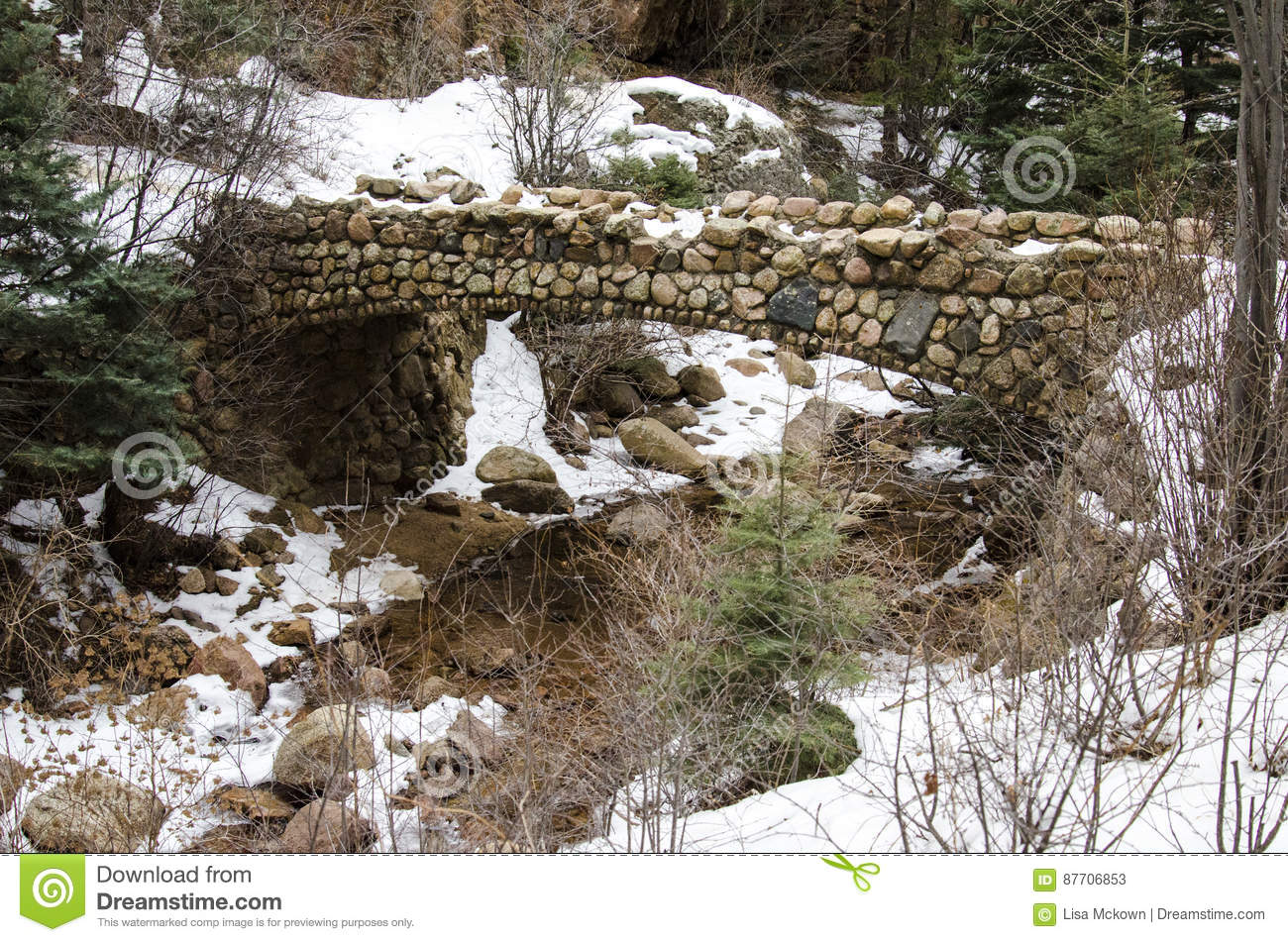 Very Old Stone Bridge
