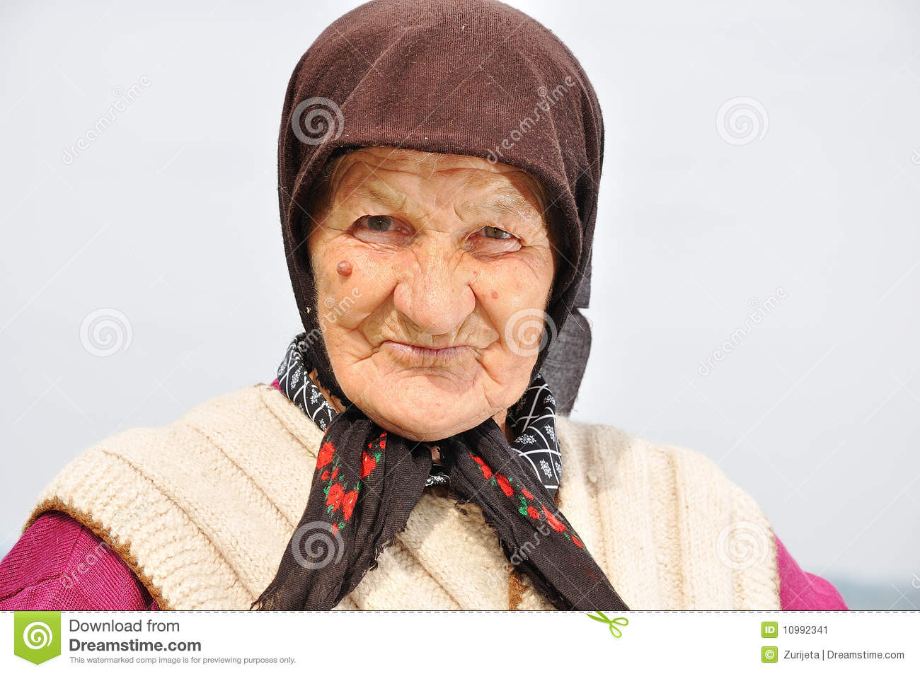 Very very old women