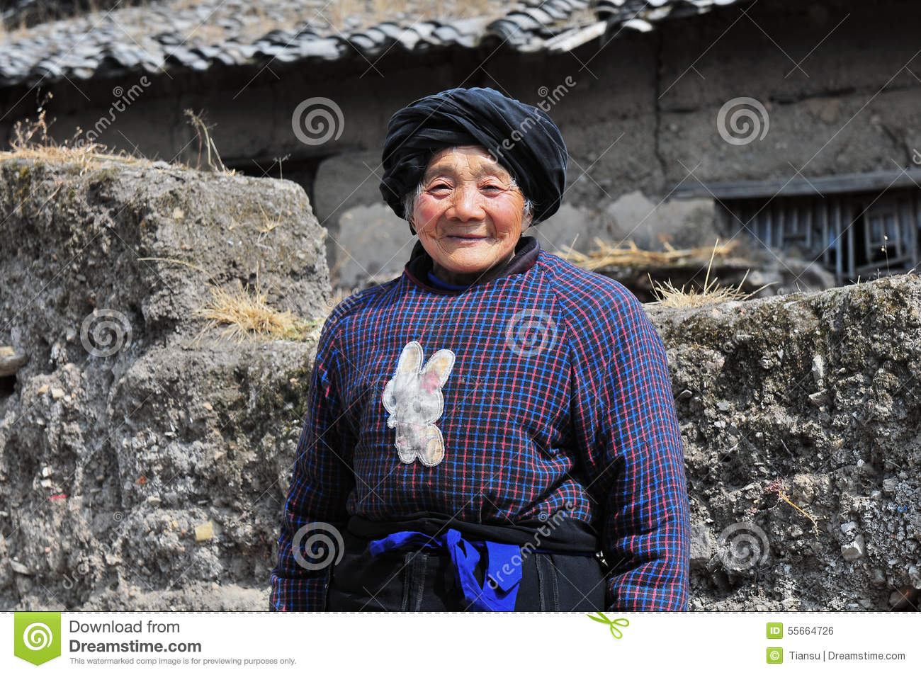 Old woman poen