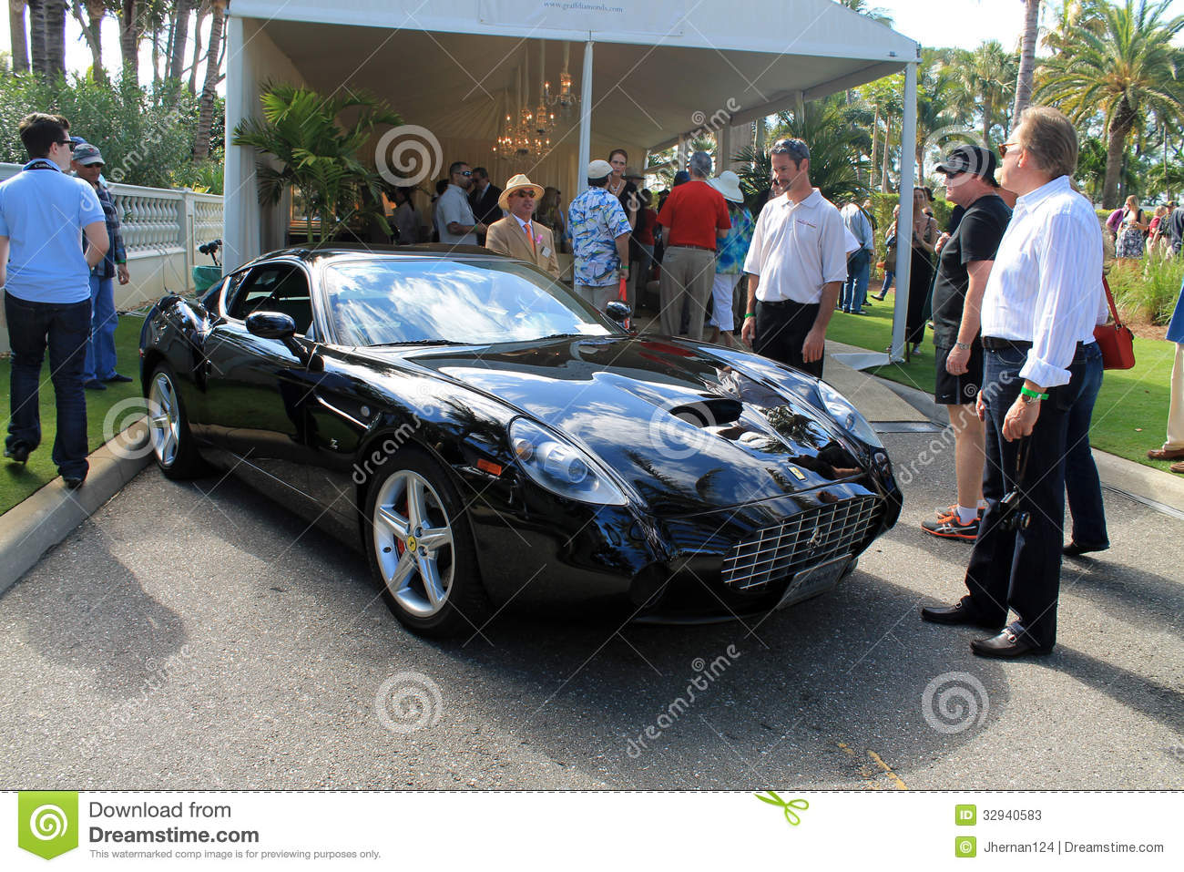 Very Rare Modern Ferrari Sports Car Editorial Stock Photo - Image of ...
