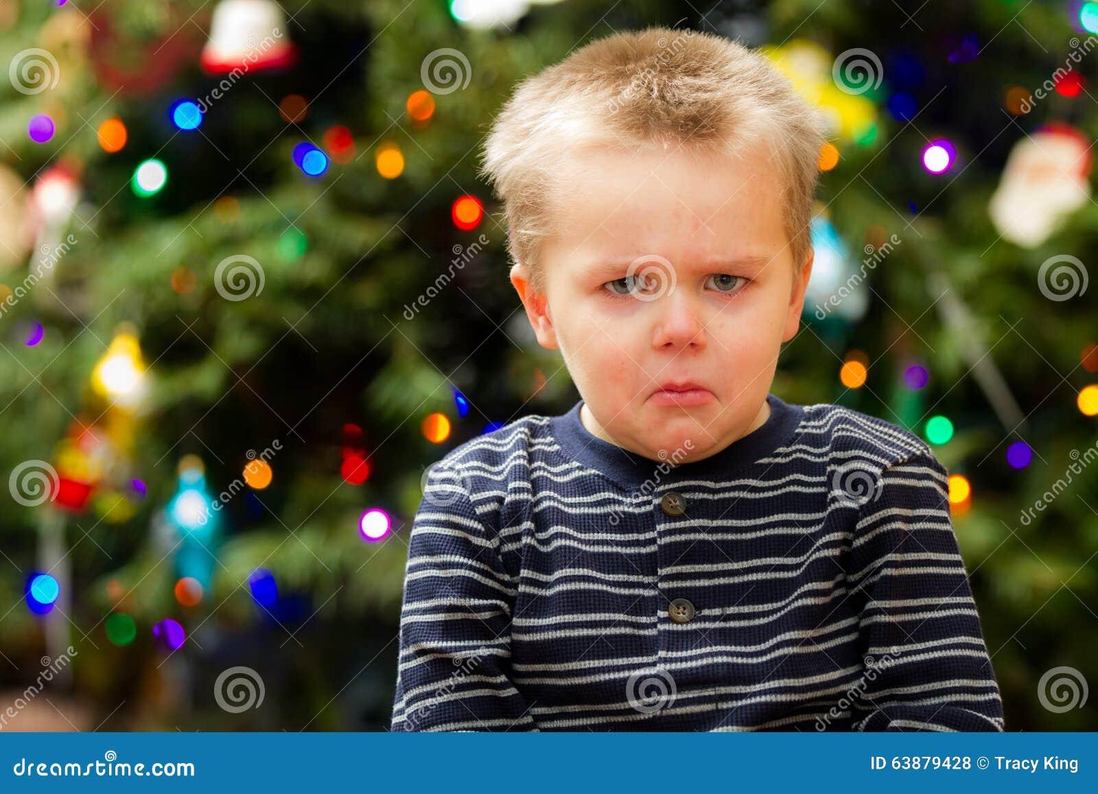 Very Sad Christmas For This Guy Stock Photo - Image: 63879428