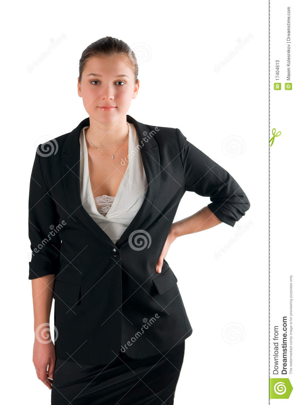 Very Serious Woman Boss Stock Image Image Of Office