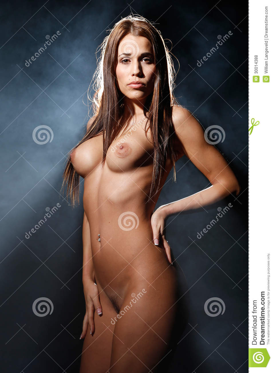 light black naked women