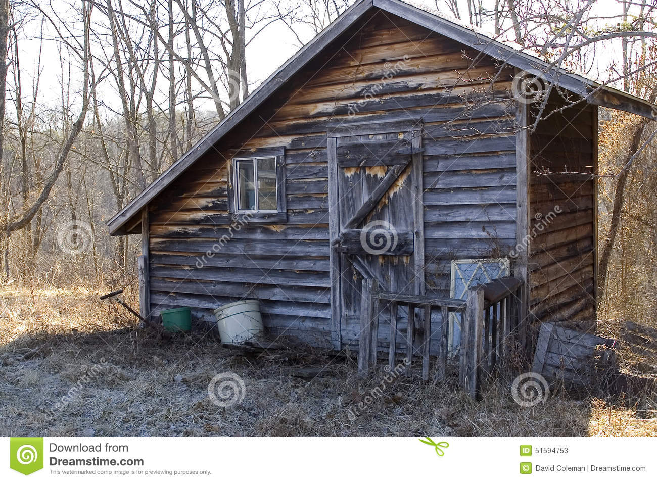 Very small cabin stock image image of appalachia edge for Very small cottages