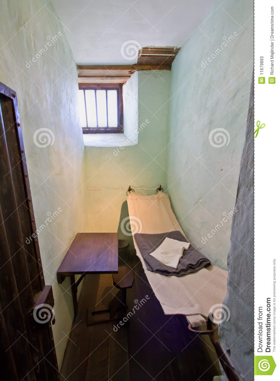 Very Small Cell In An Old Prison Stock Photos Image