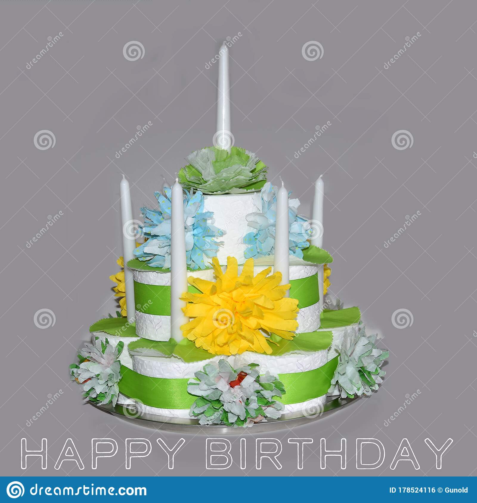 Surprising Special Birthday Cake In Times Of Toilet Paper Shortage Stock Personalised Birthday Cards Petedlily Jamesorg