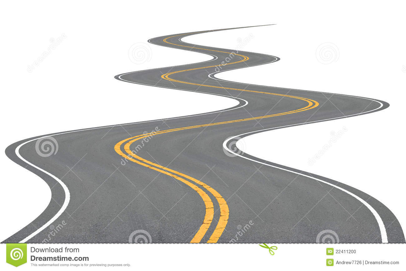 Winding Road Clipart Very winding road