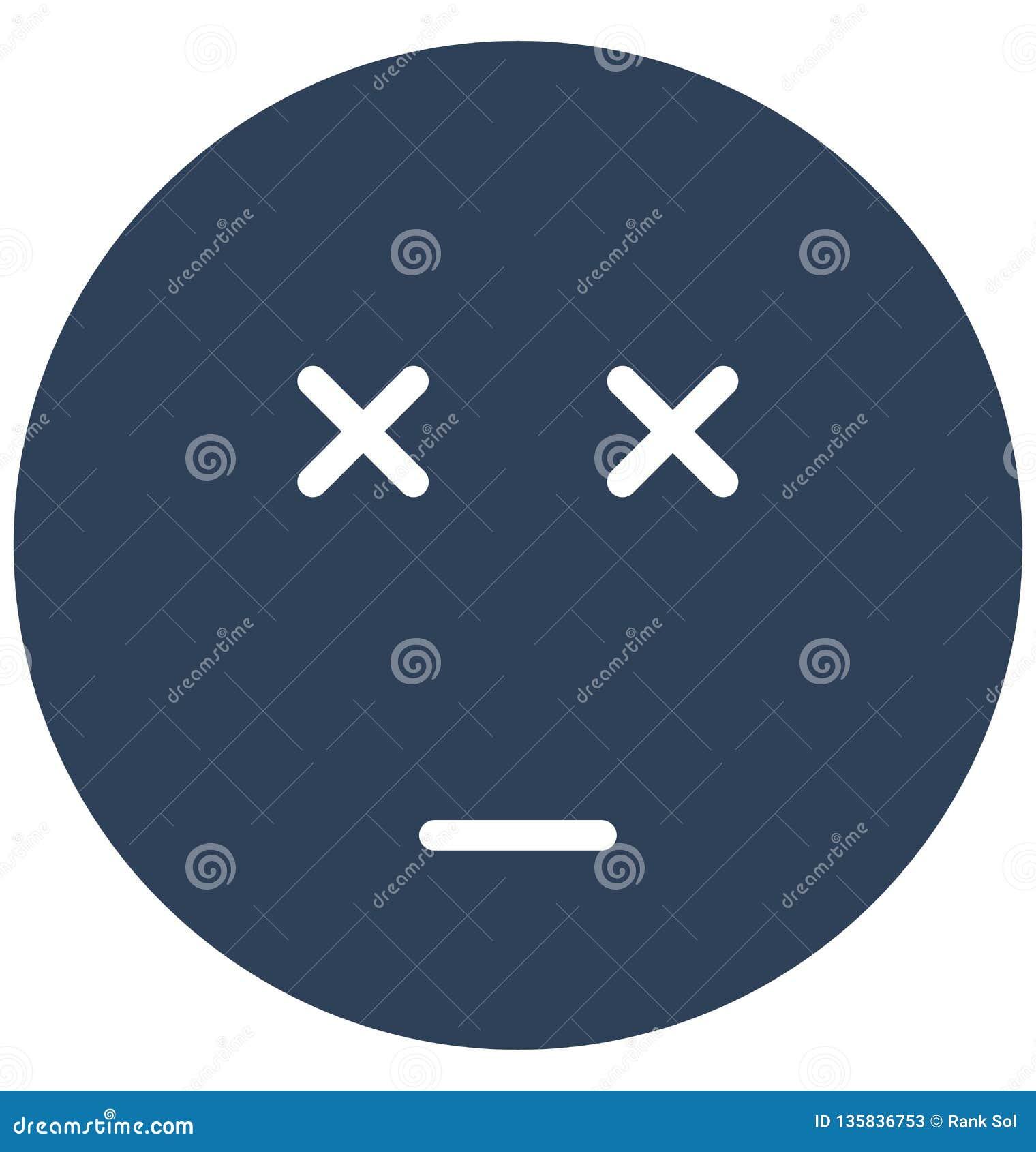 Verzegeld oog, boos Vector Geïsoleerd Pictogram dat zich gemakkelijk kunnen wijzigen of uitgeven