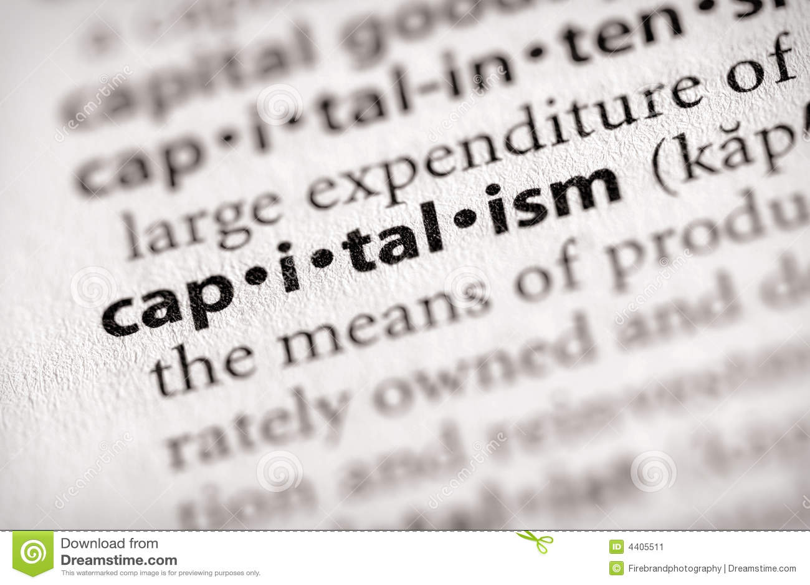 Verzeichnis-Serie - Volkswirtschaft: Kapitalismus