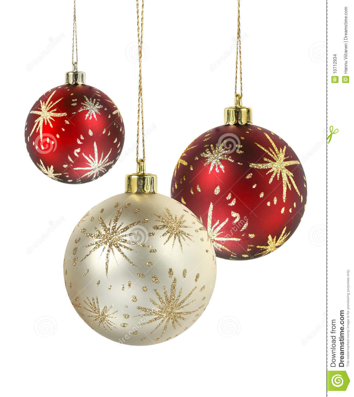 Magenta Christmas Ornaments