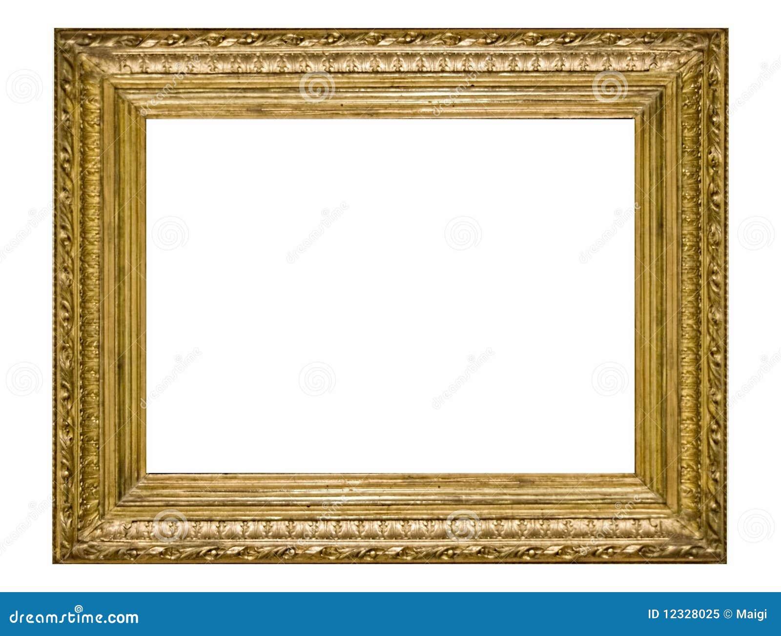Verzierter Bilderrahmen stockbild. Bild von grenze, einfassen - 12328025