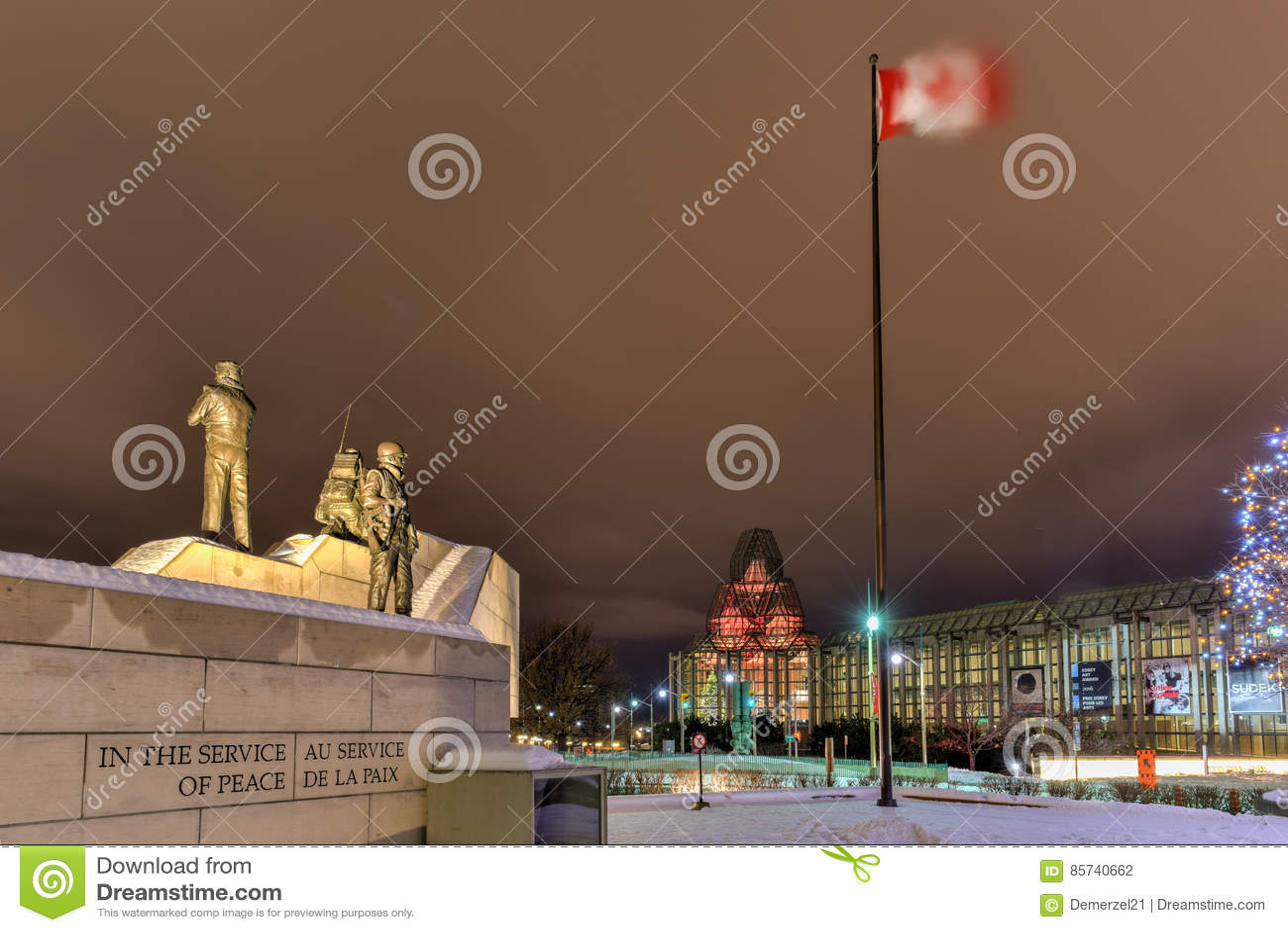 Verzoening: Het Behoud van de vredemonument - Ottawa - Canada