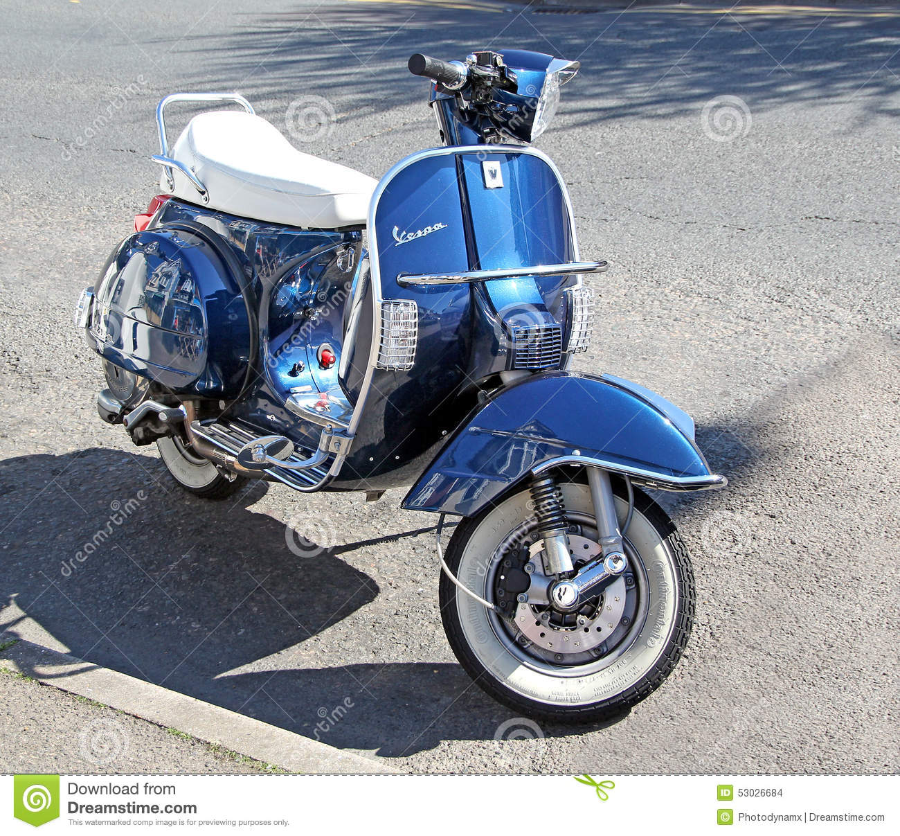 3 Wheeled Motorcycles >> Vespa motorcycle scooter editorial stock image. Image of transport - 53026684