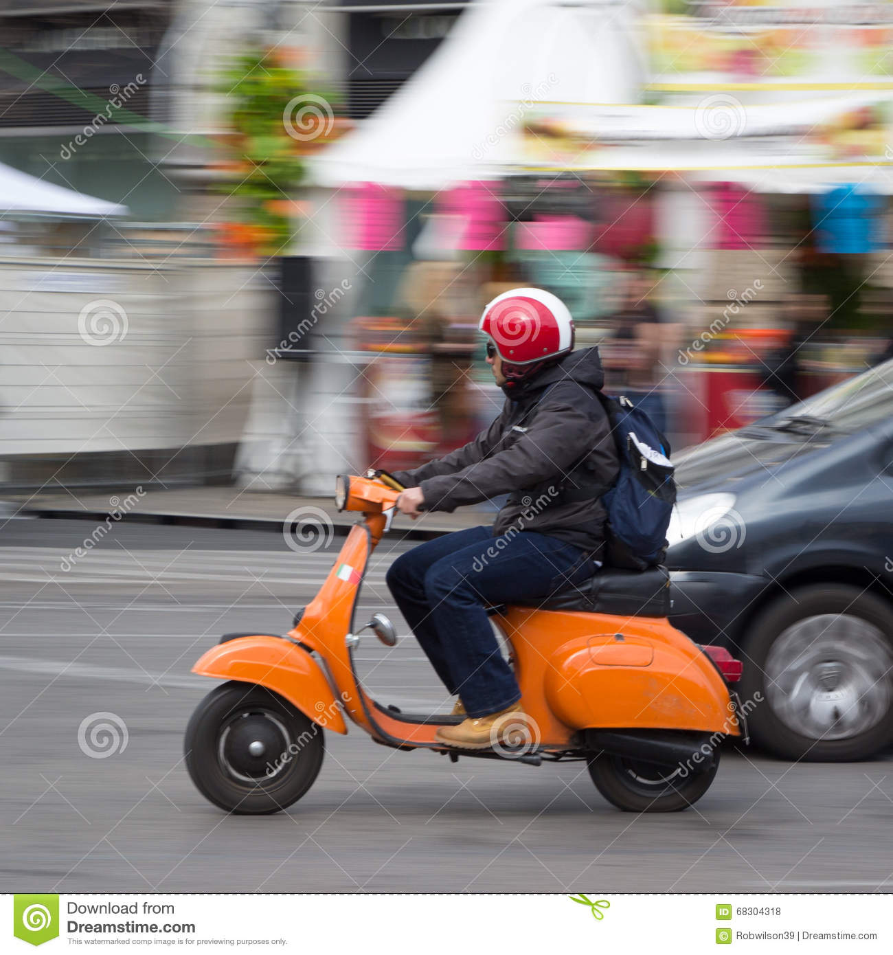 Vespa Scooter In Europe Editorial Stock Photo Image Of Travel 68304318