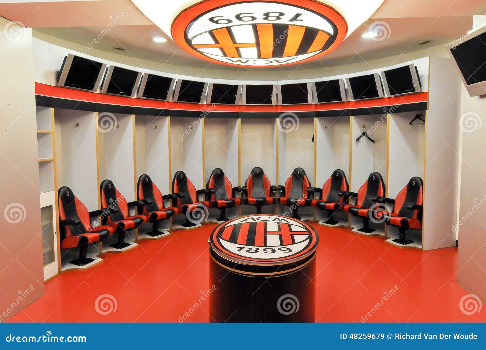 Vestido-cuarto de AC Milan