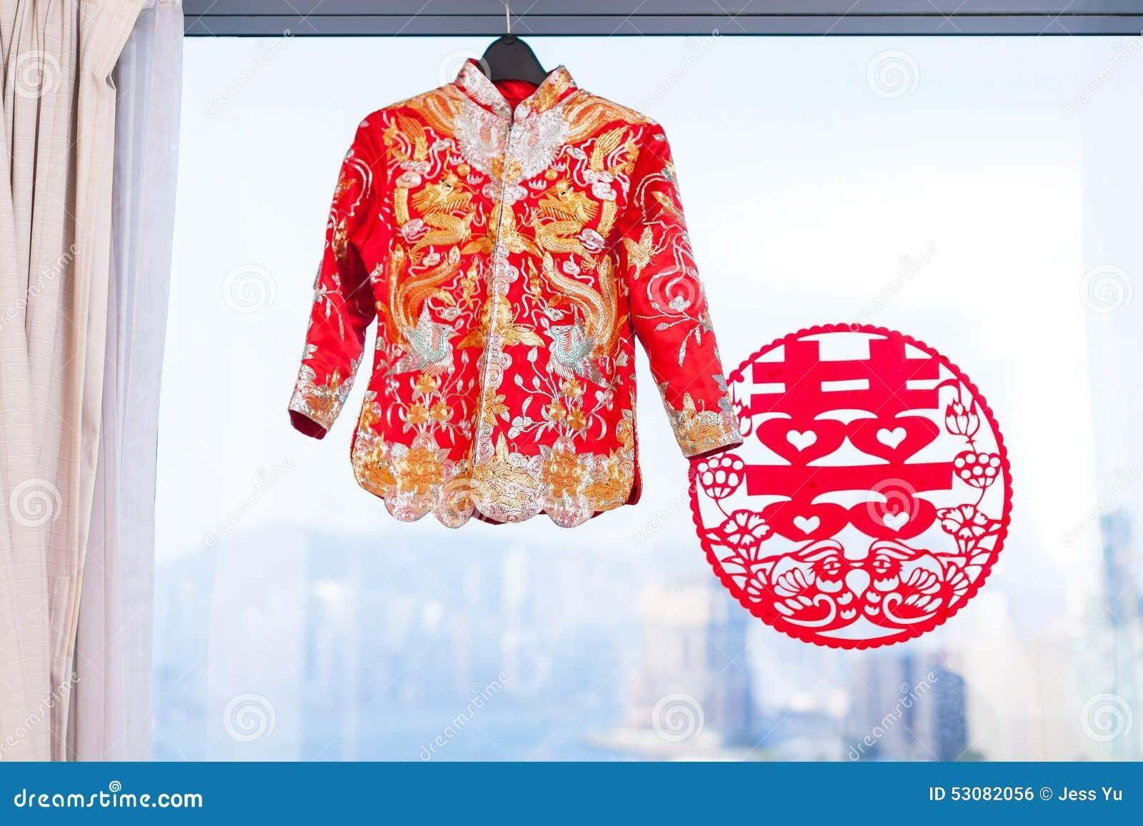 Vestido de boda chino