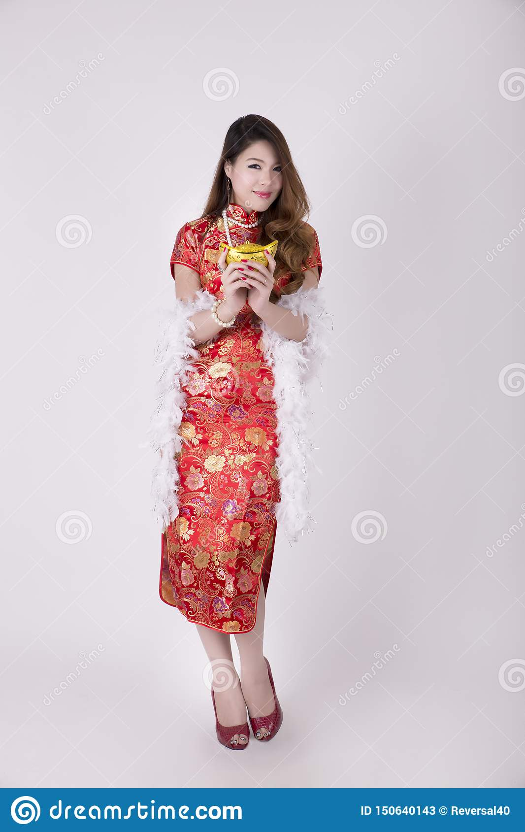 Vestido de Cheongsam