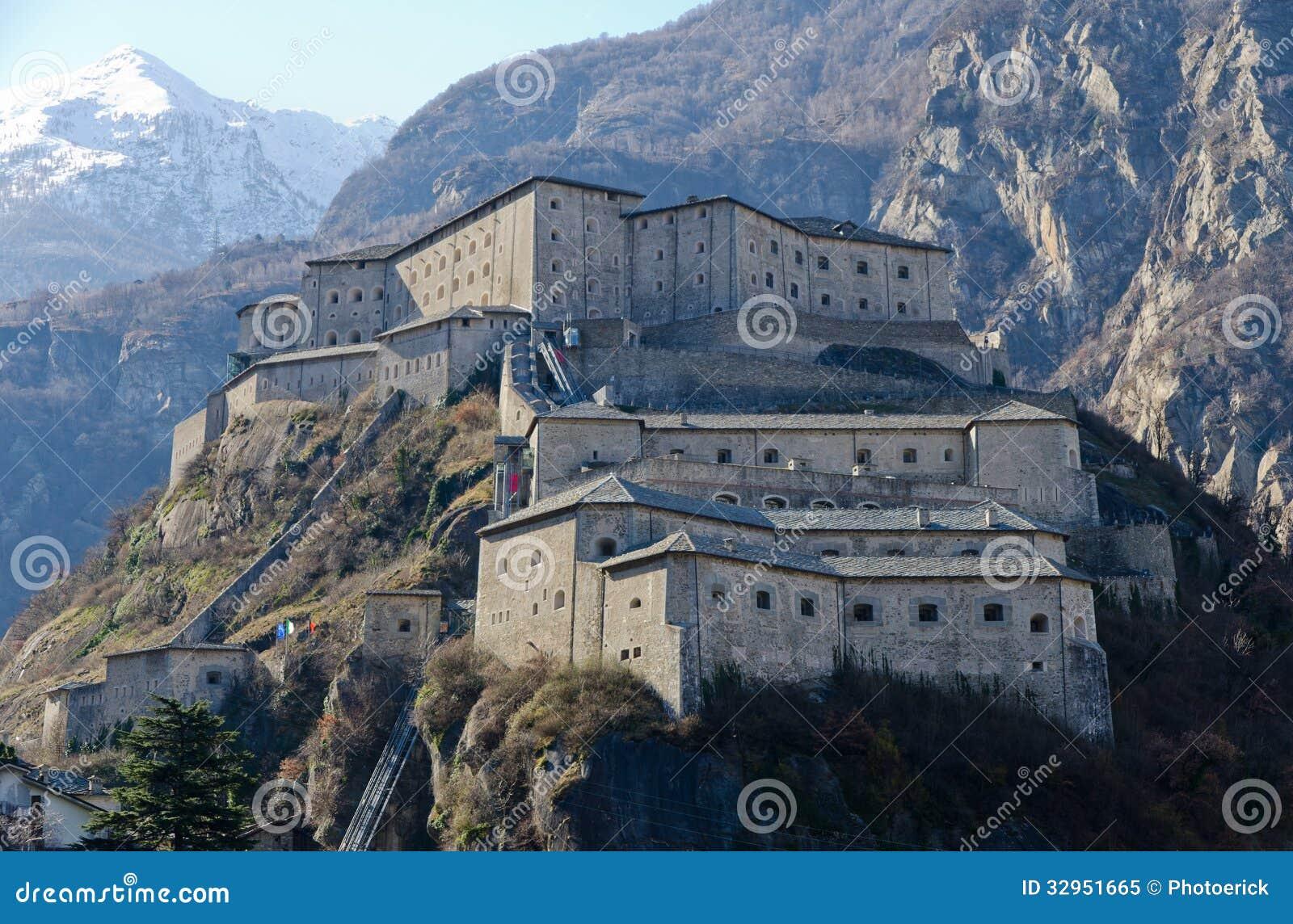 Vesting van Bard - Aosta-Vallei - Italië