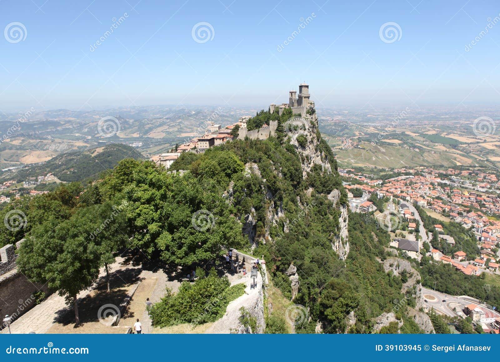 Vesting van La Rocca. San Marino
