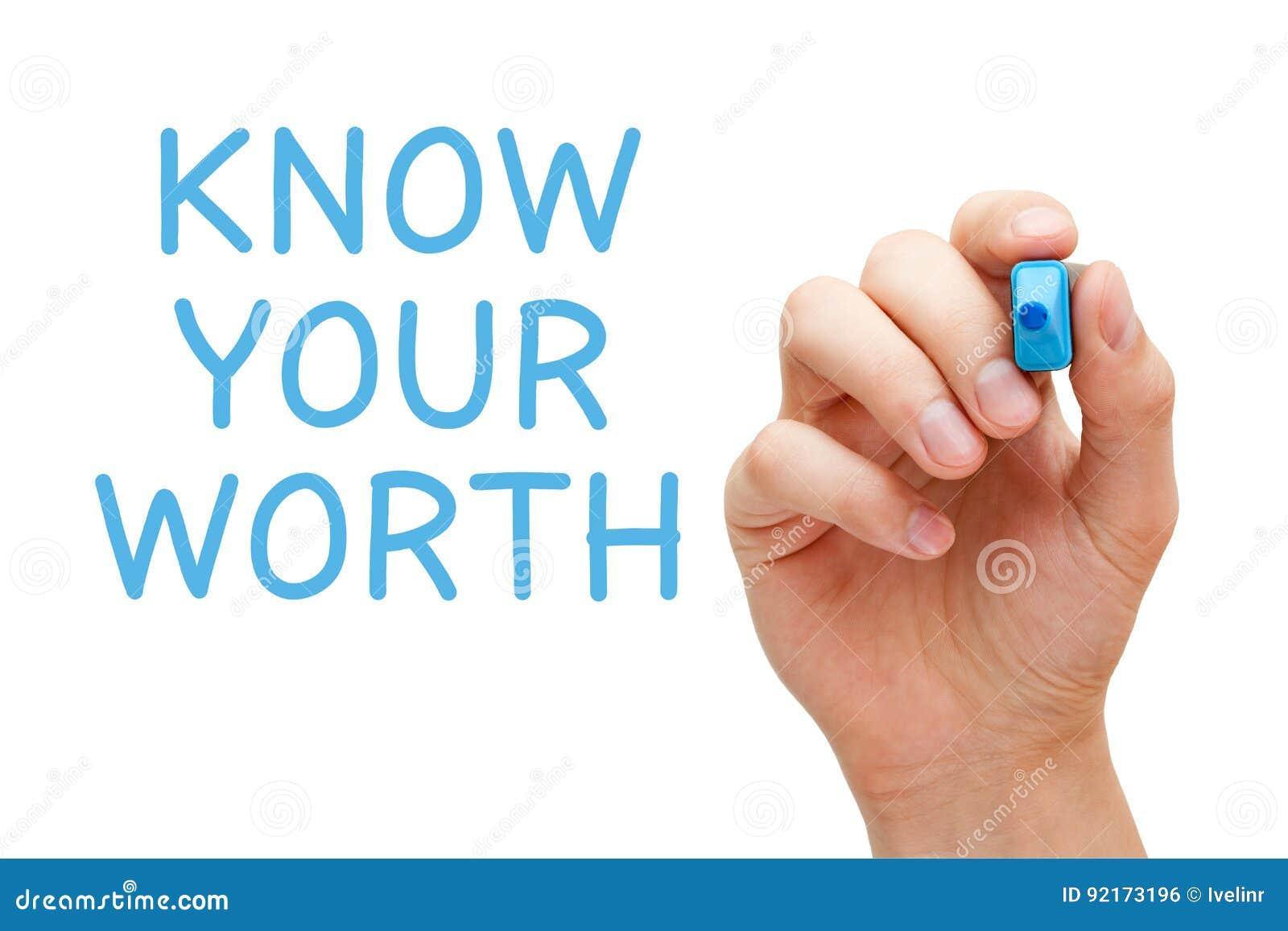 Vet ditt värde