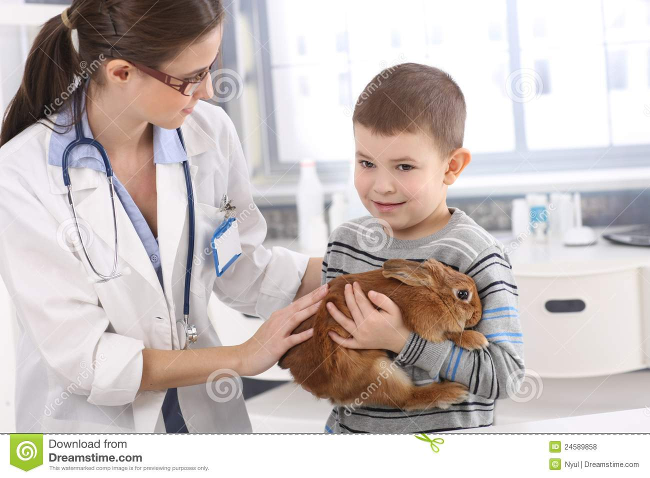 veterinar kid