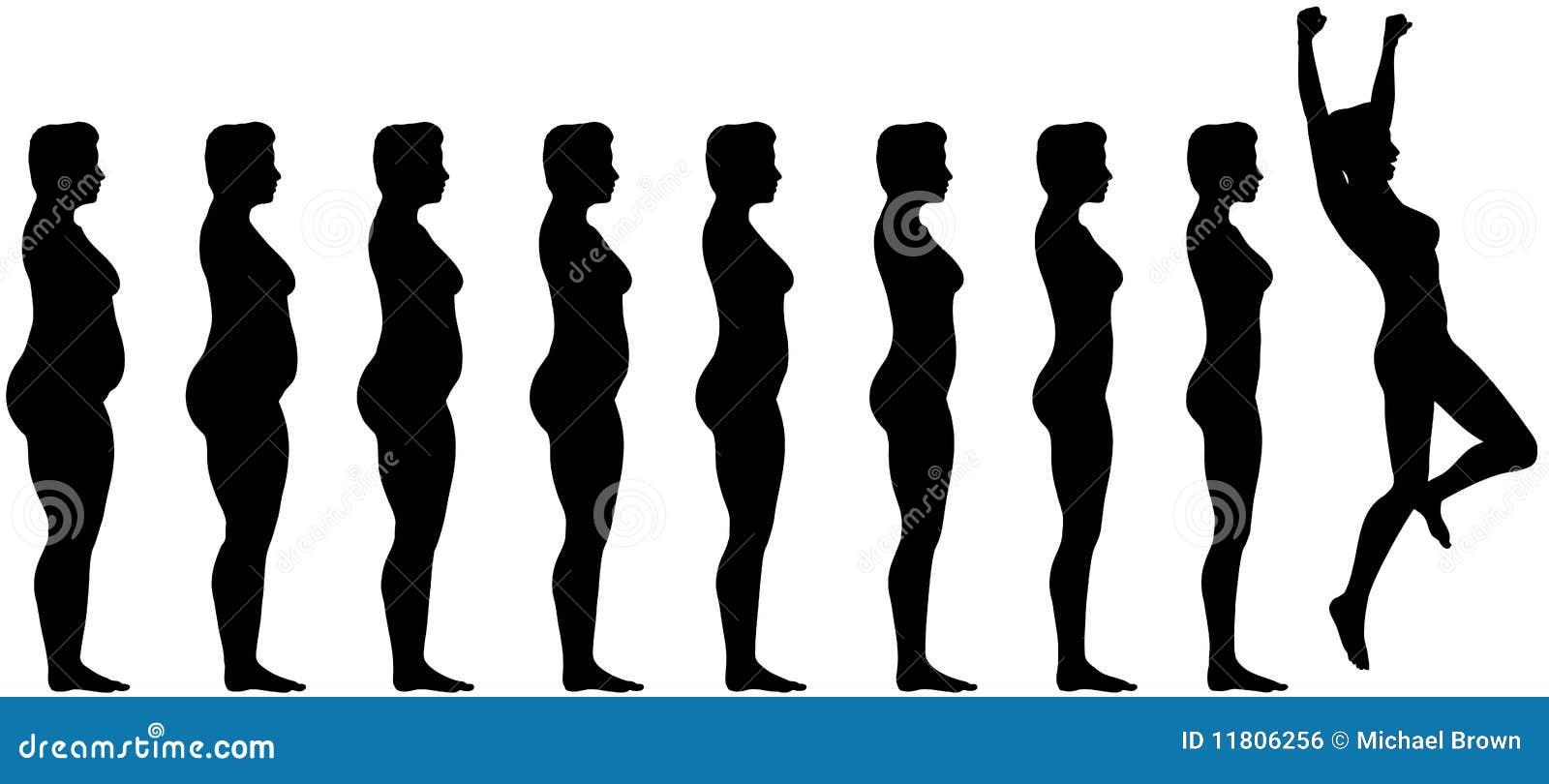Vet om het Succes van het Verlies van het Gewicht van het Dieet te passen
