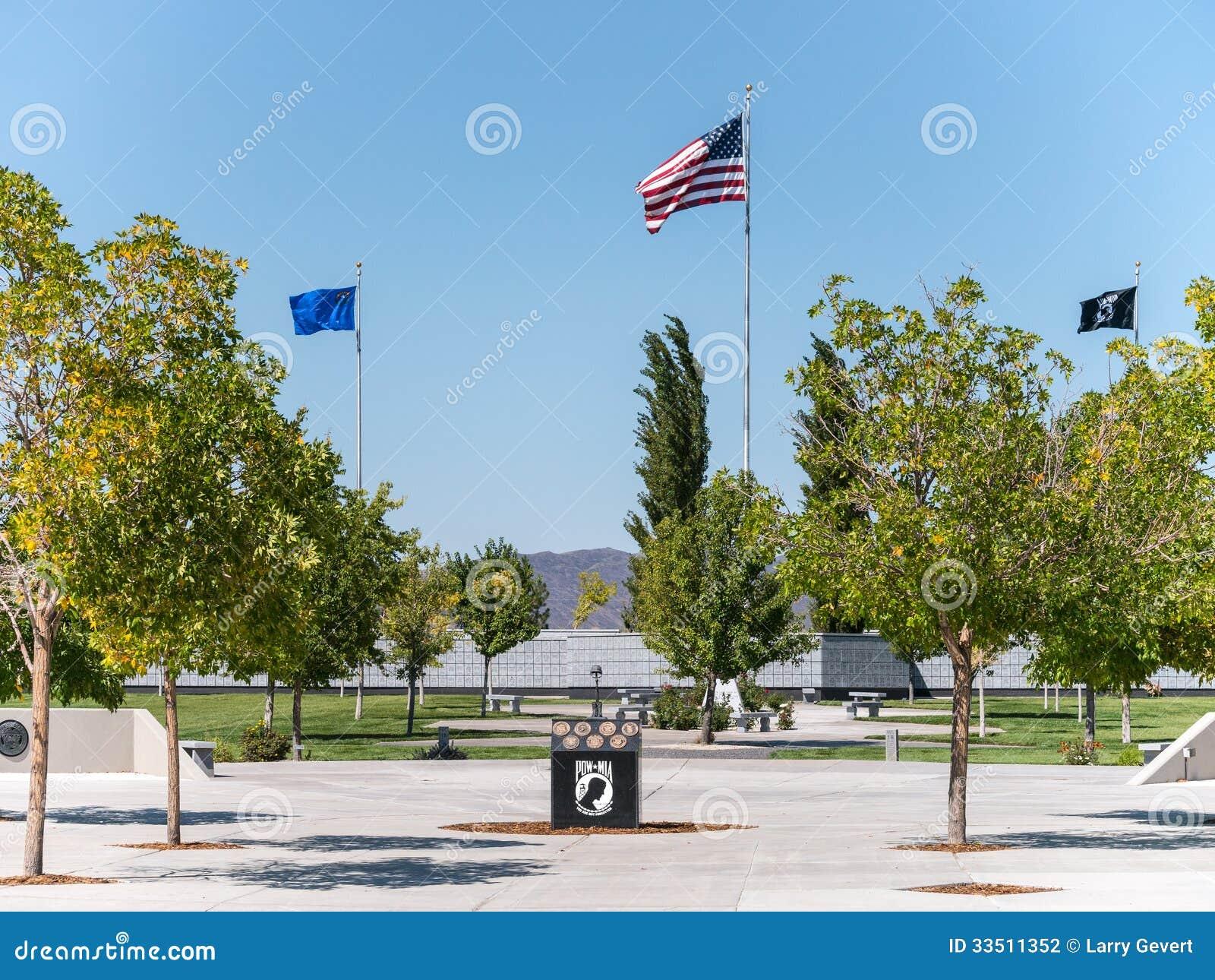 Veteran minnes- kyrkogård, Fernley, Nevada