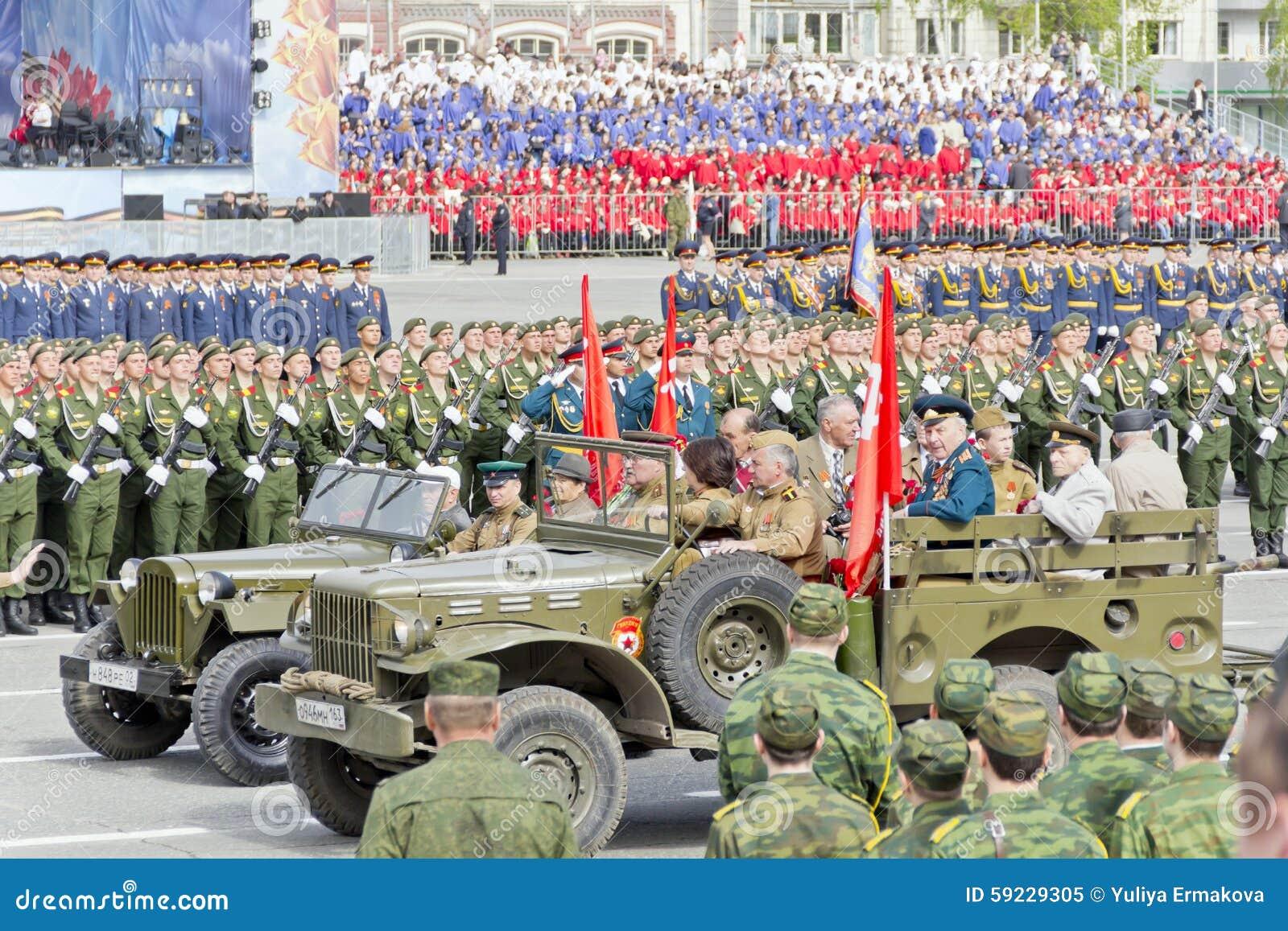 Download Veterano Ruso En El Desfile En Victory Day Anual Imagen editorial - Imagen de caucásico, rusia: 59229305