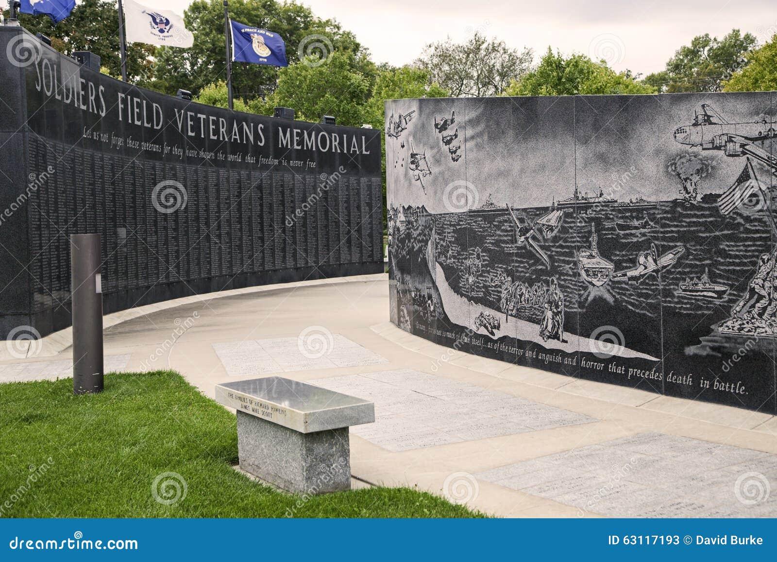 Veteranos do campo dos soldados memoráveis