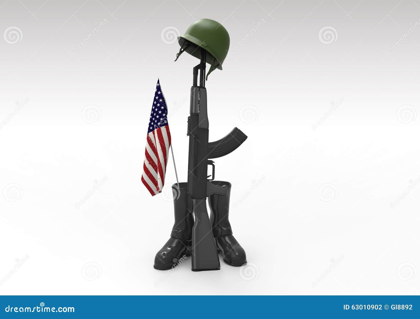 Veterans Day Symbol Stock Illustration Illustration Of Destroy