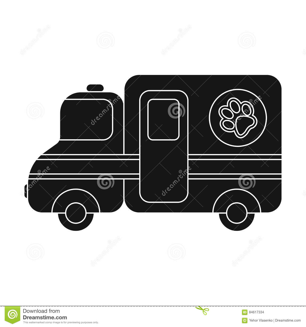 veterinary ambulance icon in black style isolated on white Person Clip Art Take Part in Examination Clip Art