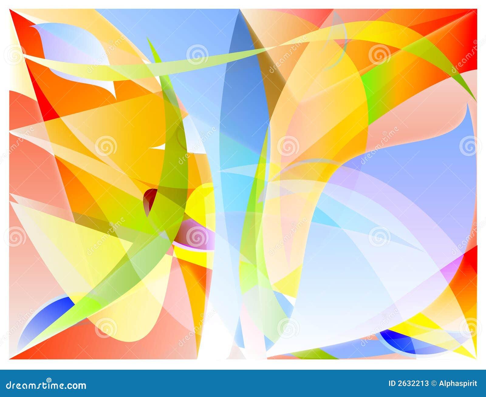 Vetor abstrato das cores