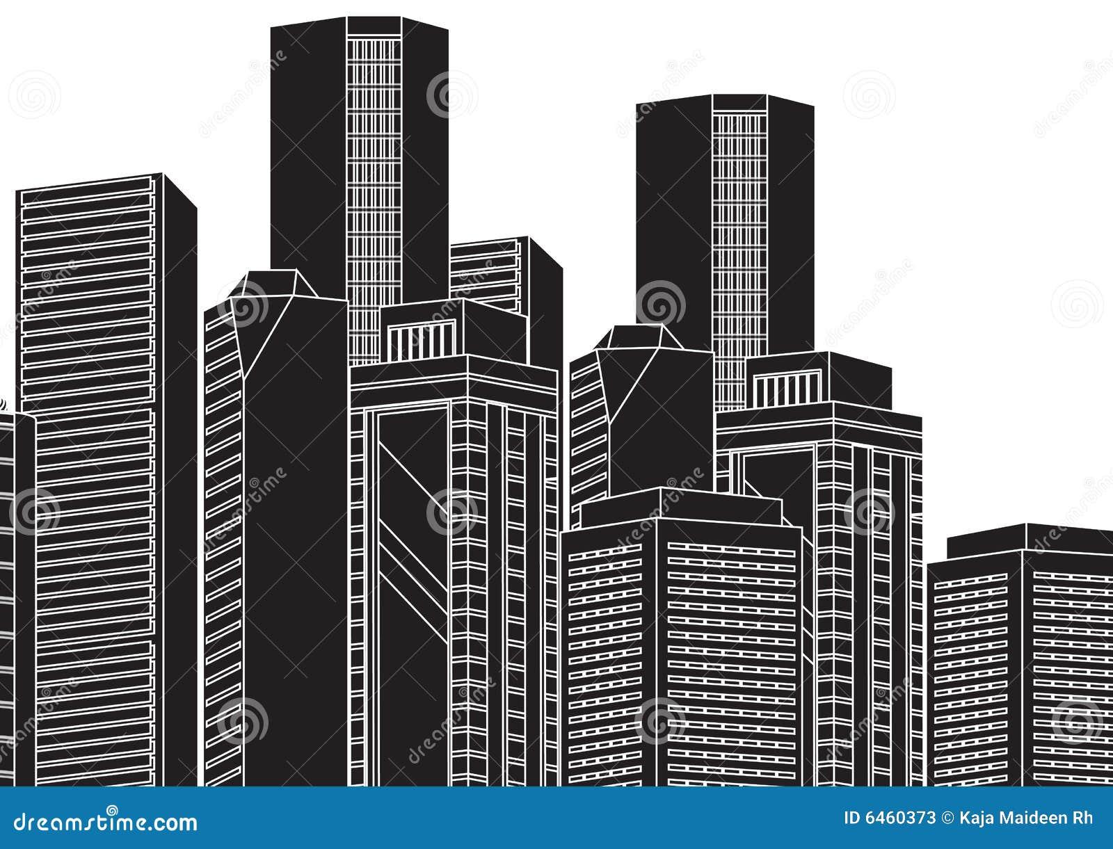 Vetor da arquitectura da cidade