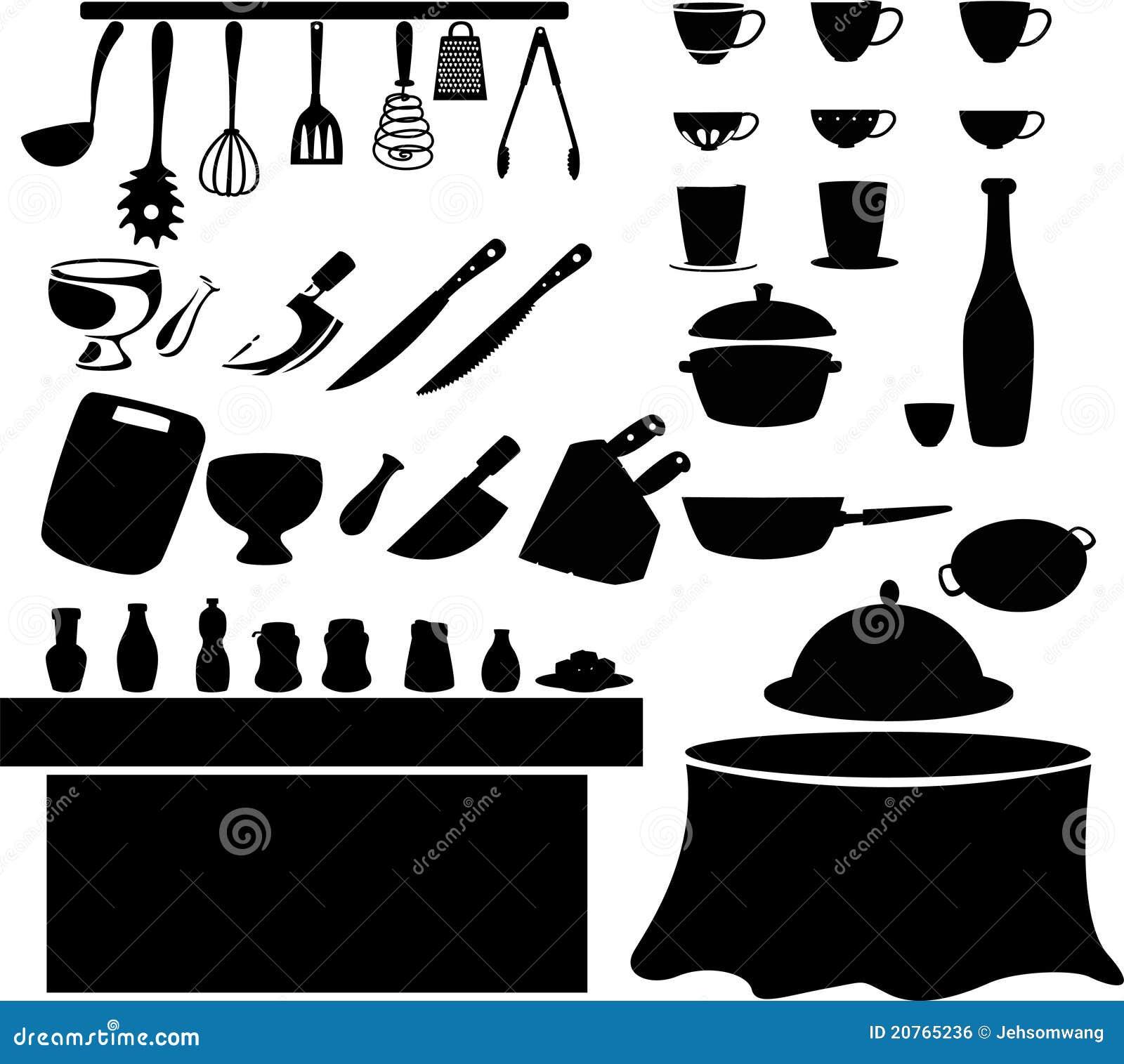 Vetor da ferramenta da cozinha ilustra o do vetor - Decorador de fotos gratis ...