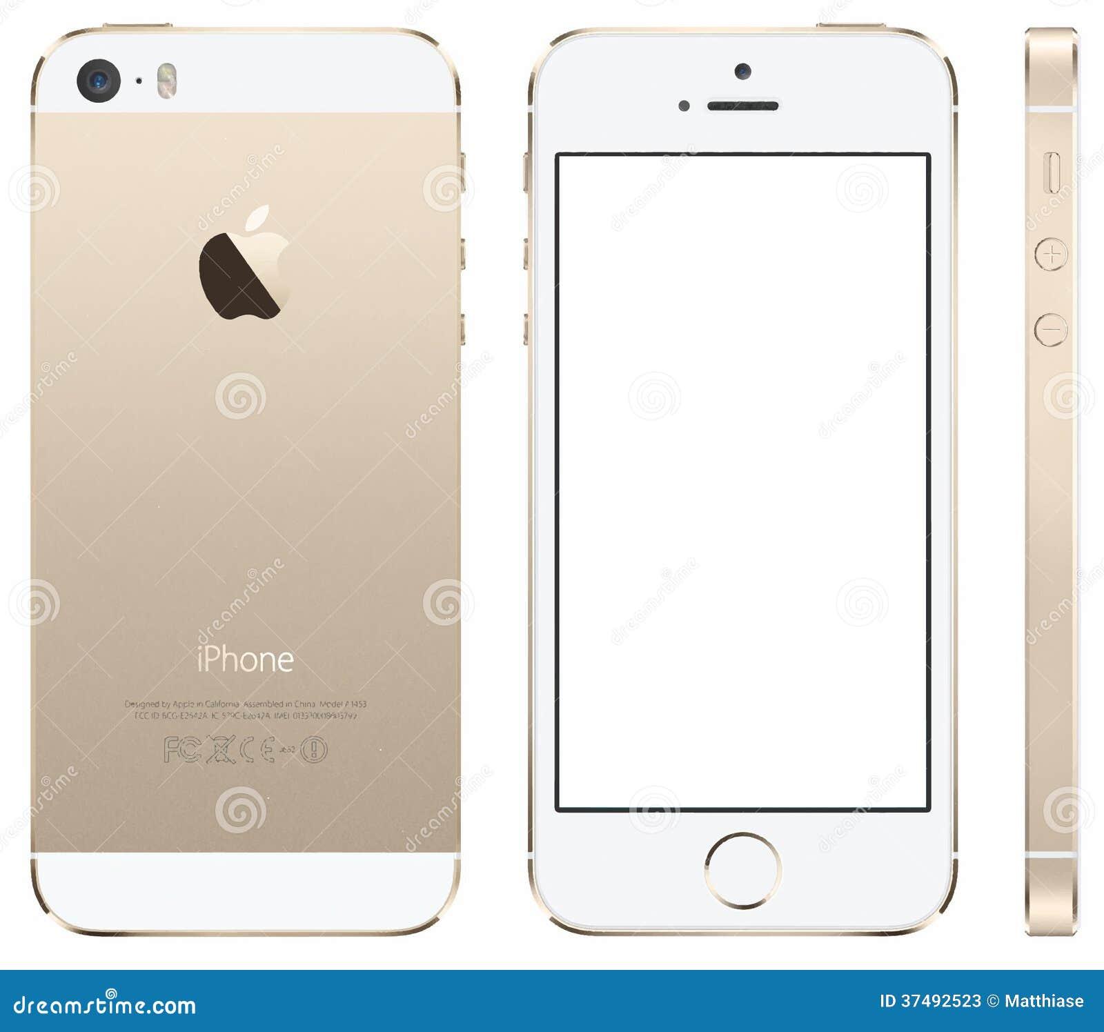 Vetor de Iphone 5s