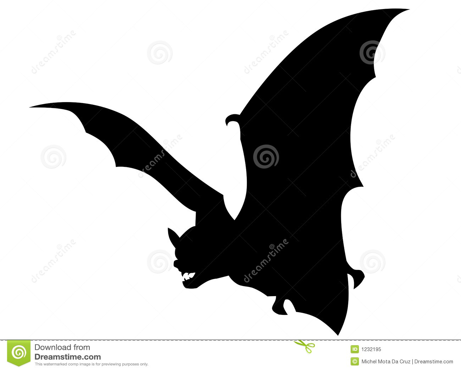 Vetor do bastão do vampiro