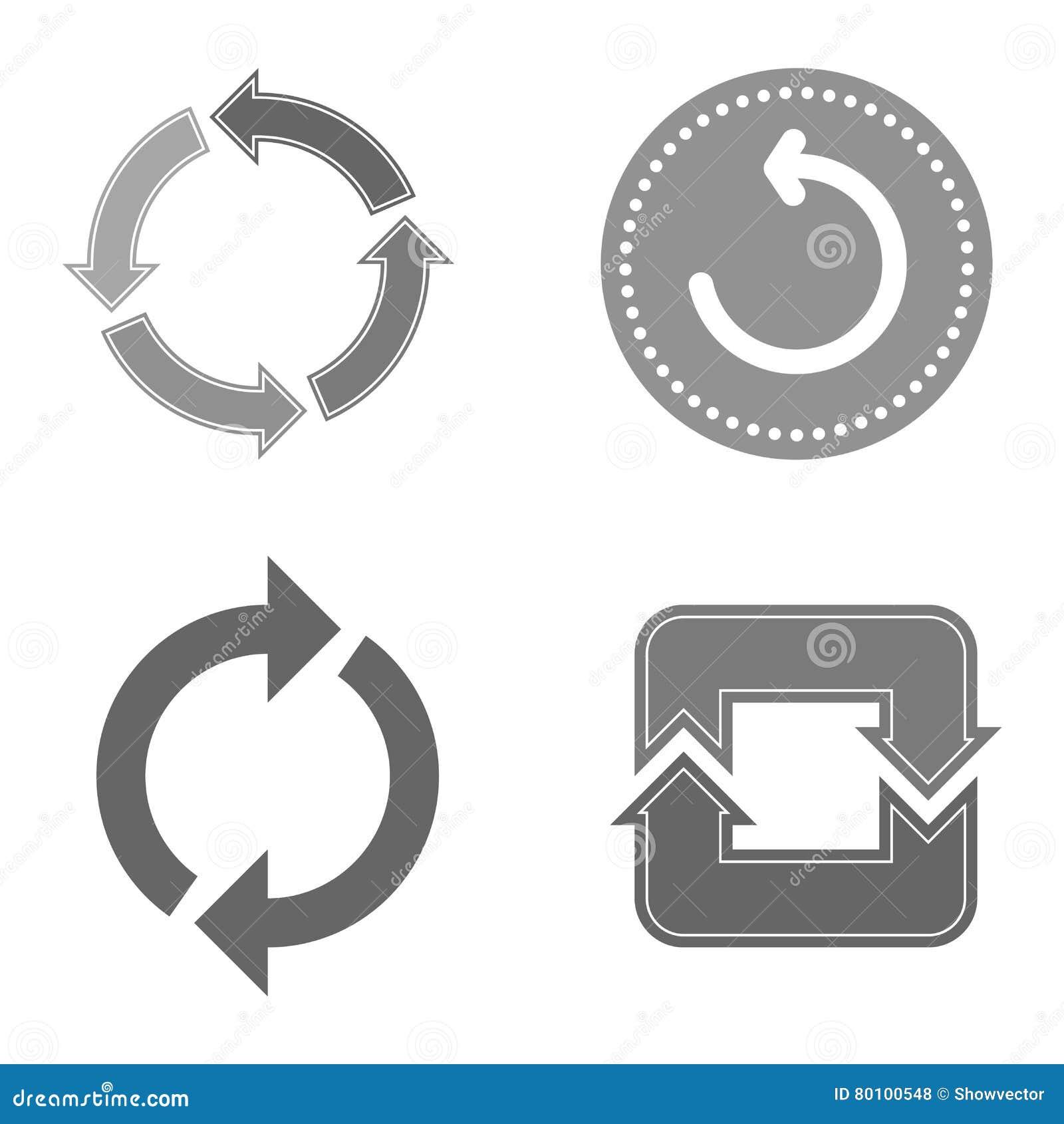 Vetor do botão do círculo isolado