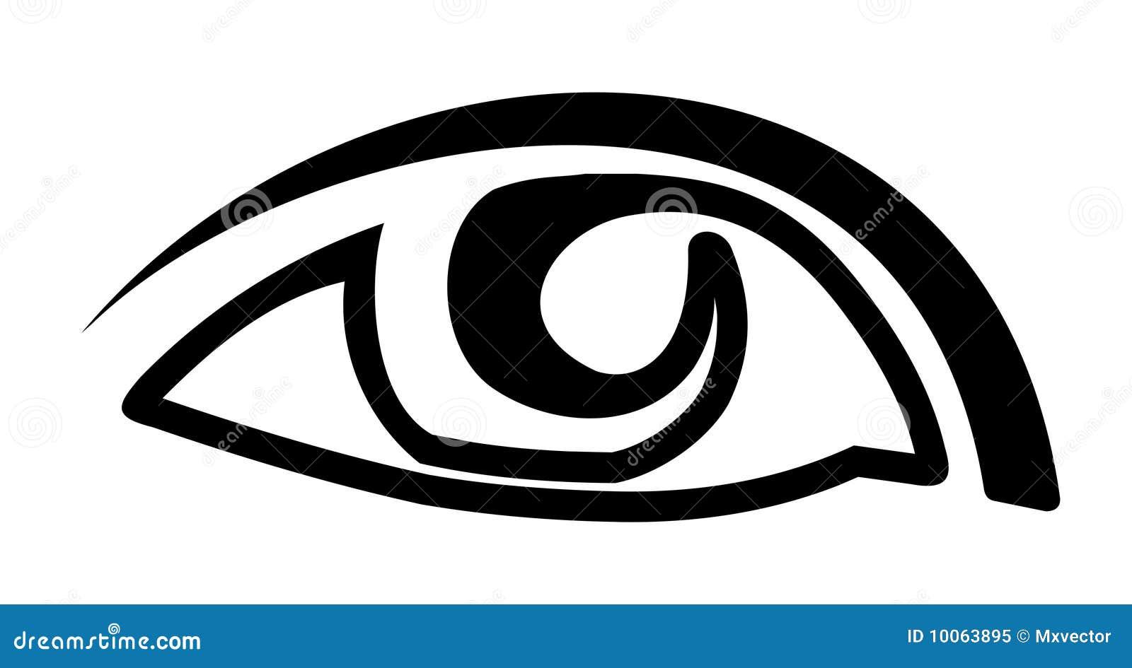 Vetor do olho