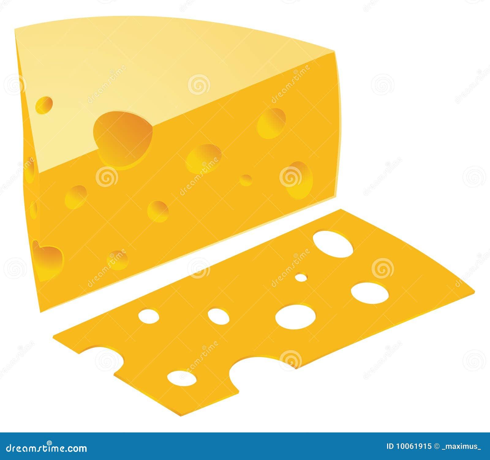 Vetor do queijo