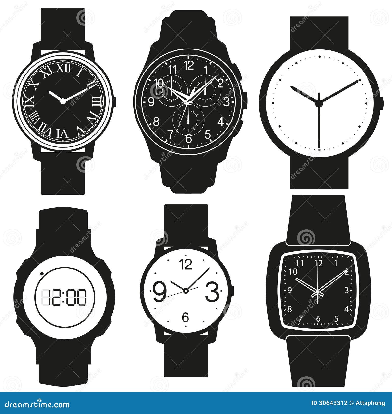 Vetor do relógio